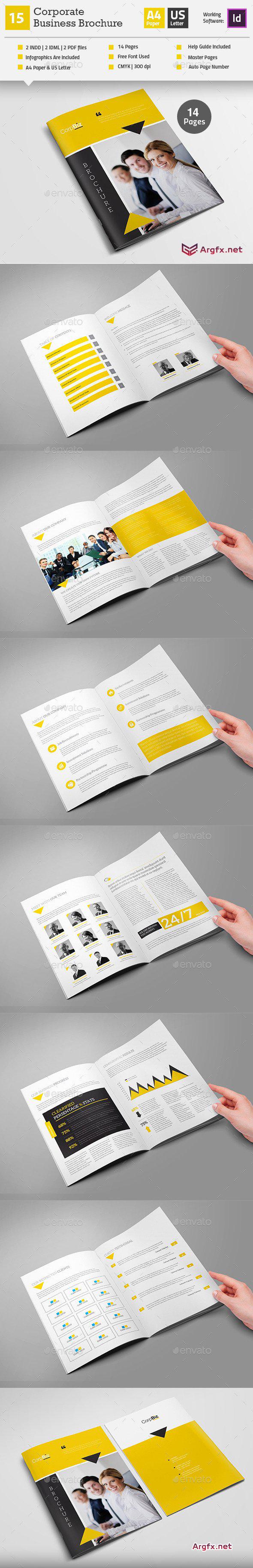 Multipurpose Business Brochure Indesign Layout V16 12485860