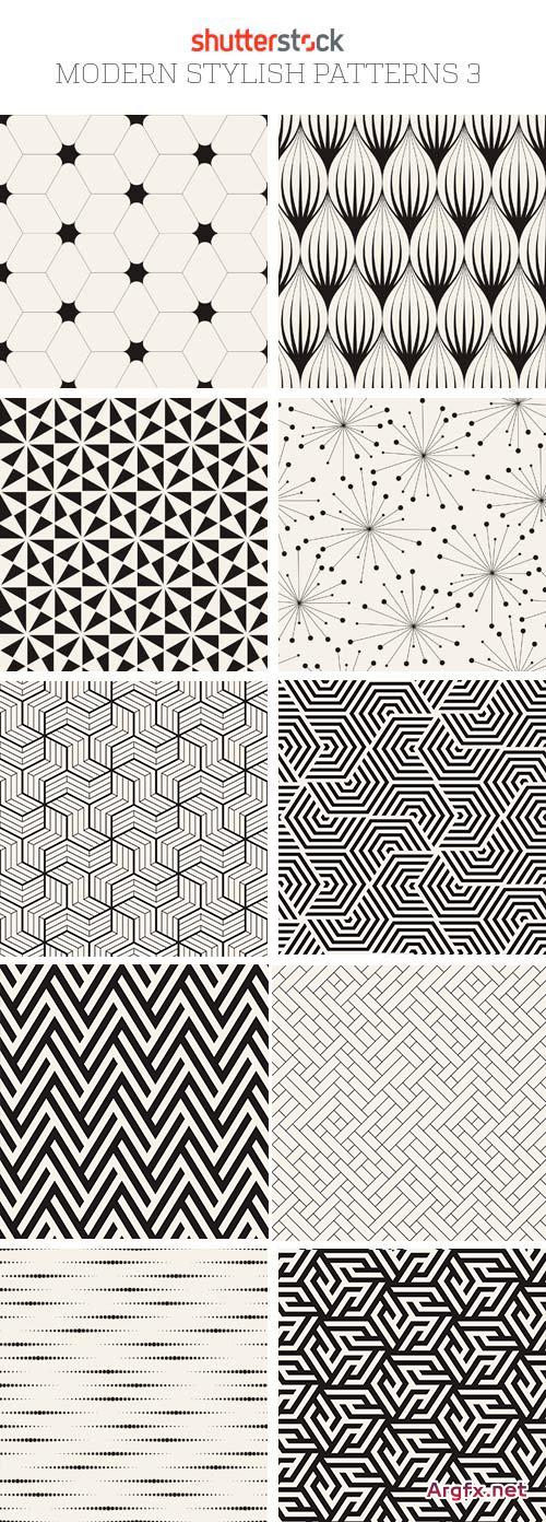 Amazing SS - Modern Stylish Patterns 3, 25xEPS