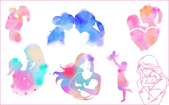 العالم ملحقات لطيفة الام